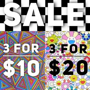 SALE | 3 for $10 & 3 for $20 | Scroll Down Sale